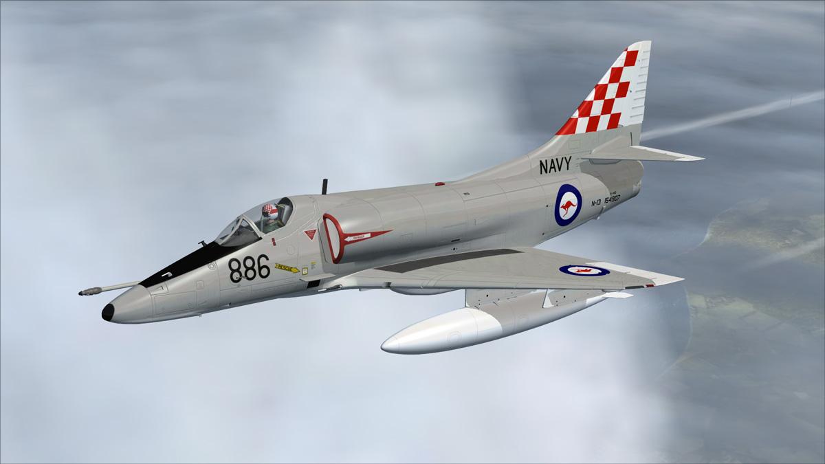 A4 skyhawk video