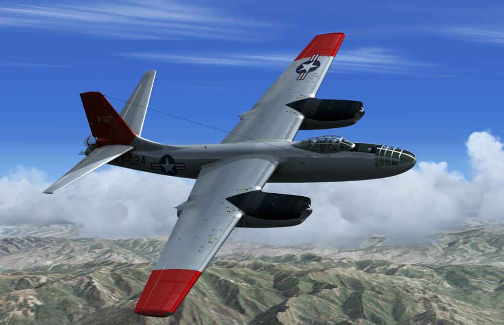 VIRTAVIA B-45 Tornado